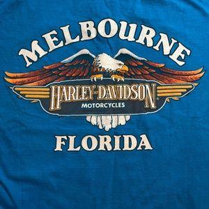Vintage Rare 1983 Harley Davidson USA T Shirt